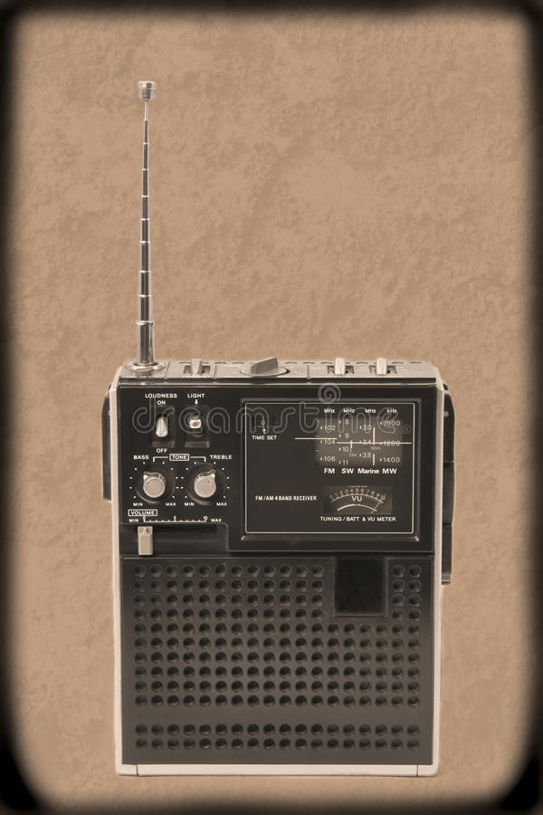 De korte Radio van de Golf stock fotografie