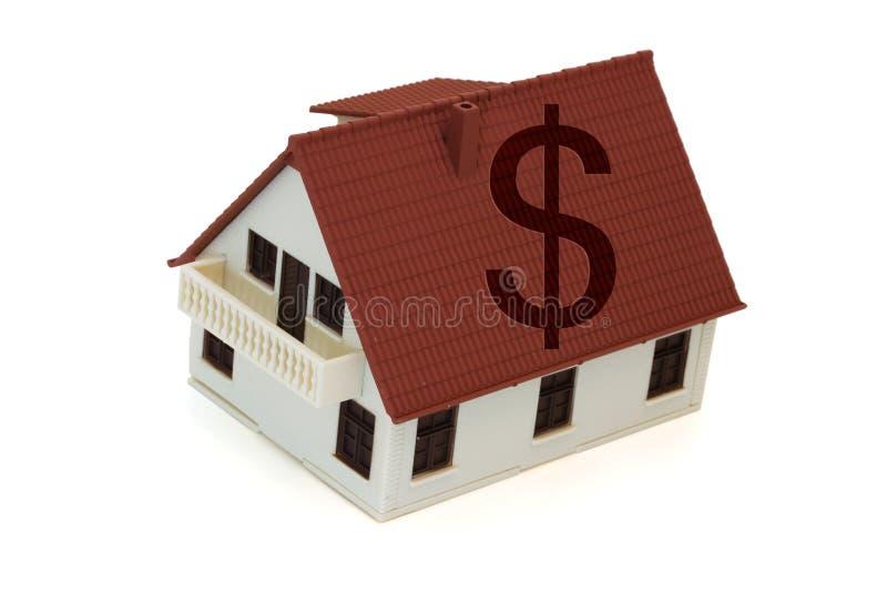 De Kosten van de huisvesting royalty-vrije stock foto