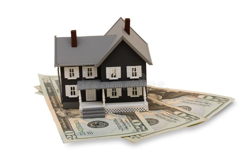 De Kosten van de huisvesting stock afbeeldingen