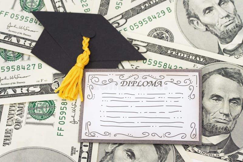 De Kosten van het onderwijs royalty-vrije stock afbeelding