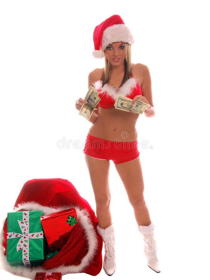 Download De kosten van Kerstmis stock foto. Afbeelding bestaande uit cash - 277940