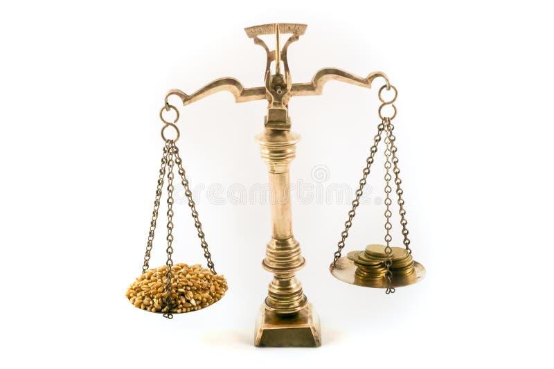 De kosten van voedsel royalty-vrije stock fotografie