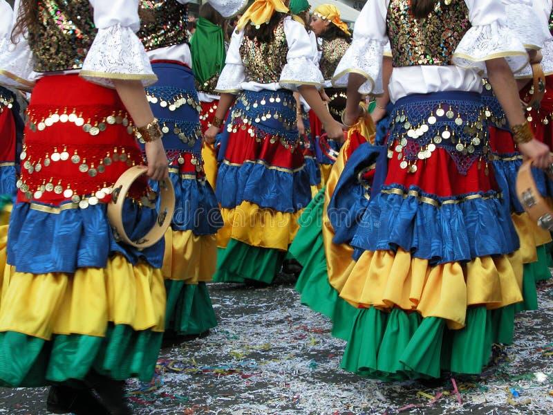 De kostuums van Carnaval royalty-vrije stock foto