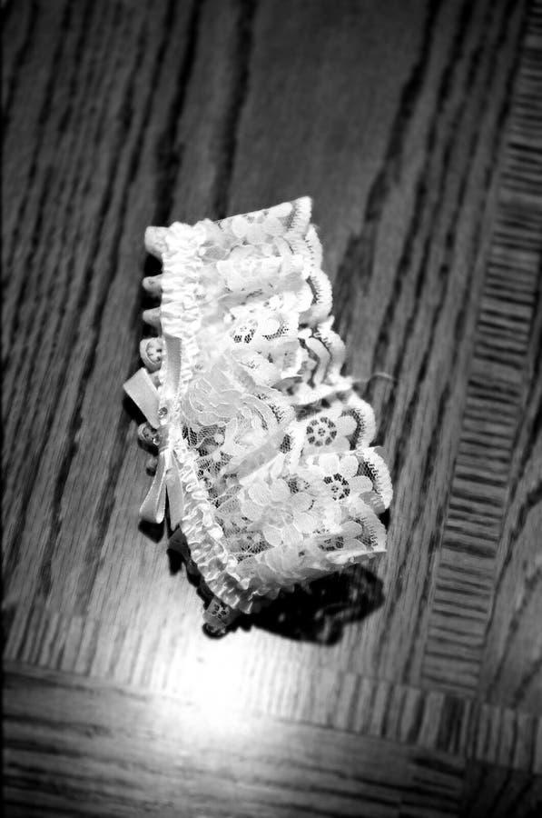 De kouseband van de bruid royalty-vrije stock afbeelding