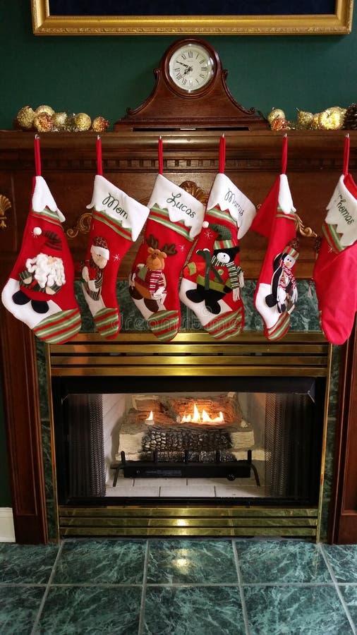 De kousen van Kerstmis royalty-vrije stock foto