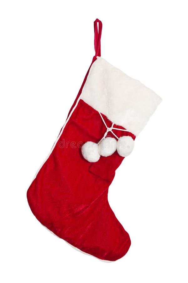 De kousen van Kerstmis op een open haardafdekplaat royalty-vrije stock afbeeldingen