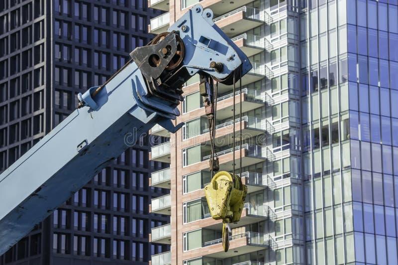 Download De Kraan van de bouw stock afbeelding. Afbeelding bestaande uit macht - 29508429