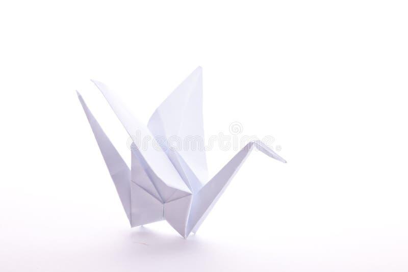 De Kraan van de origami royalty-vrije stock afbeelding