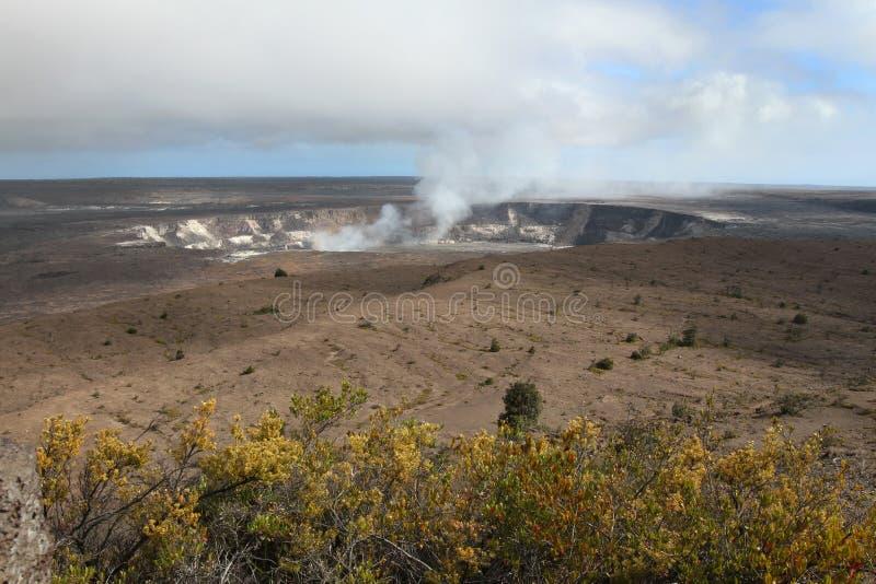 De Krater van Kilauea royalty-vrije stock foto's