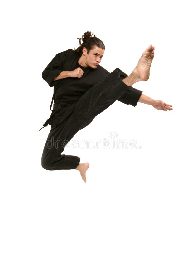 Download De KrijgsKunstenaar Van Het Vrije Slag Stock Foto - Afbeelding bestaande uit spier, mannetje: 279356