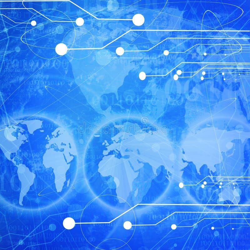 De kring van de computer vector illustratie