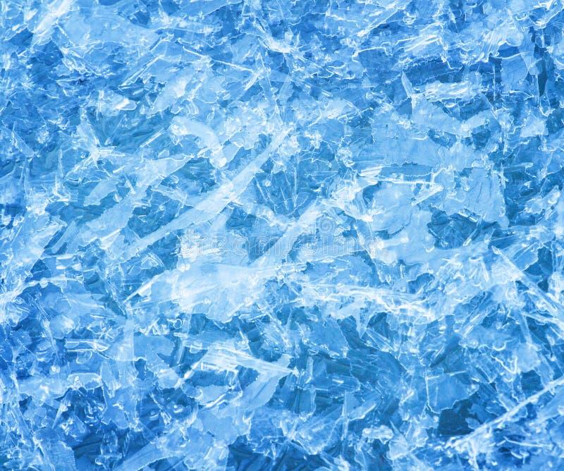 De kristallenachtergrond van het ijs royalty-vrije stock foto's