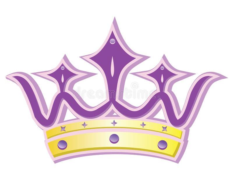De kroon van de koningin vector illustratie