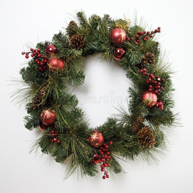 De kroon van Kerstmis. royalty-vrije stock fotografie