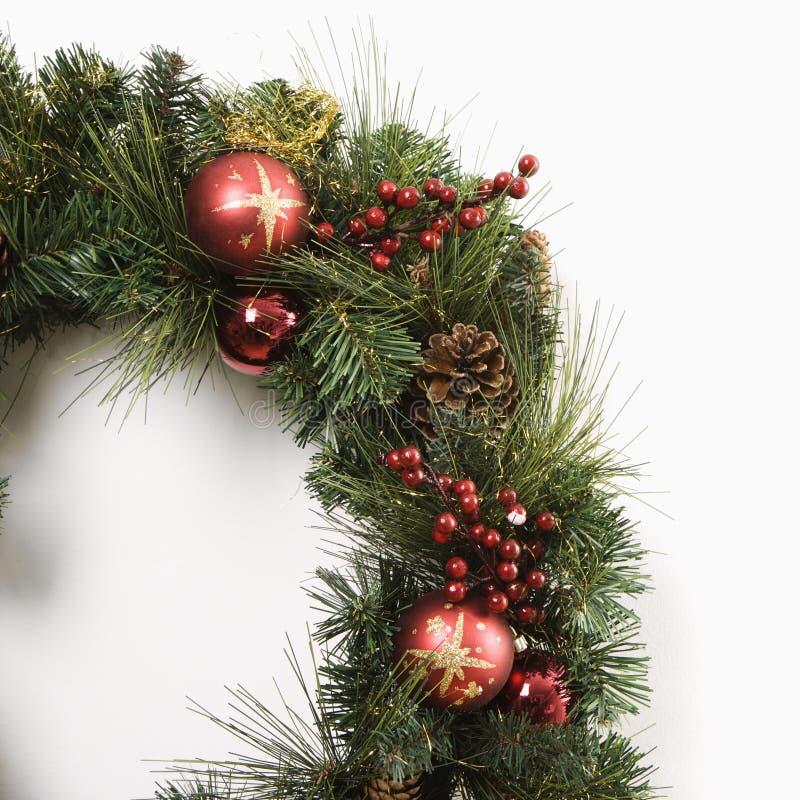 De kroon van Kerstmis. royalty-vrije stock afbeelding