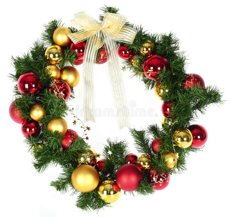 De kroon van Kerstmis stock afbeeldingen