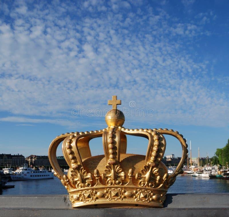 De Kroon van Stockholm royalty-vrije stock fotografie