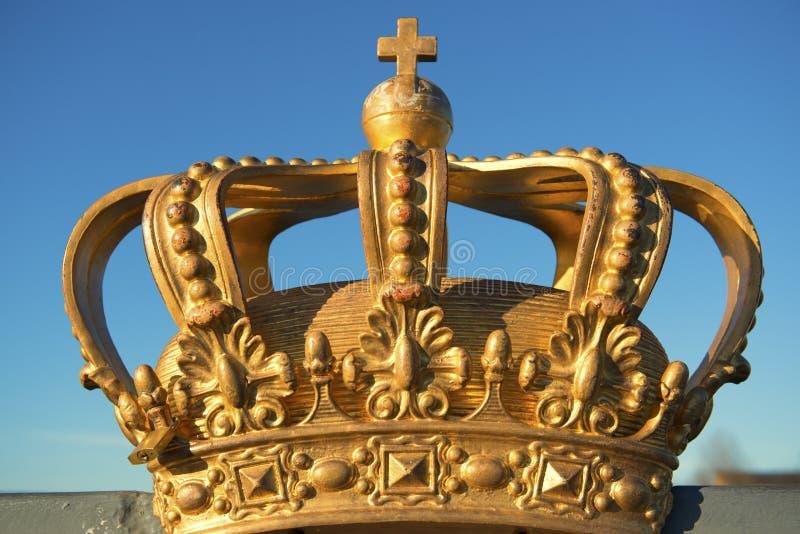De Kroon van Stockholm royalty-vrije stock afbeeldingen