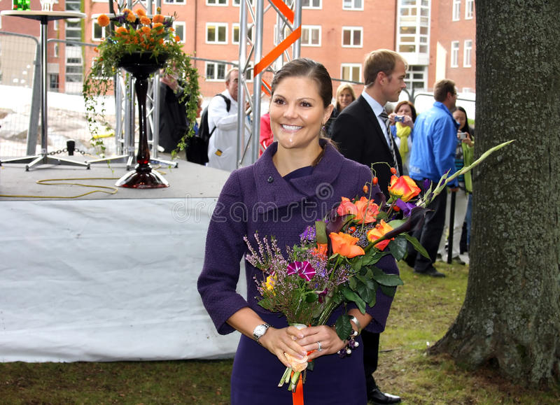 De Kroonprinses Victoria van de Hare Koninklijke Hoogheid royalty-vrije stock foto