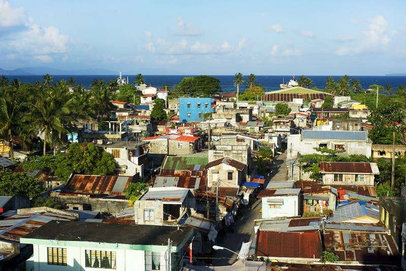 De krottenwijken van Filippijnen royalty-vrije stock afbeelding