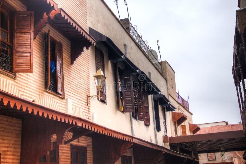 De kruiden souk in Marrakech, Marokko royalty-vrije stock foto's