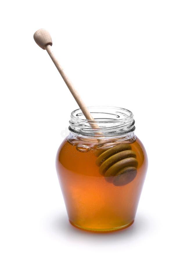 De kruik van de honing royalty-vrije stock fotografie