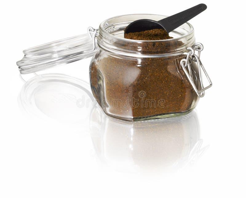 De kruik van de koffie stock foto's