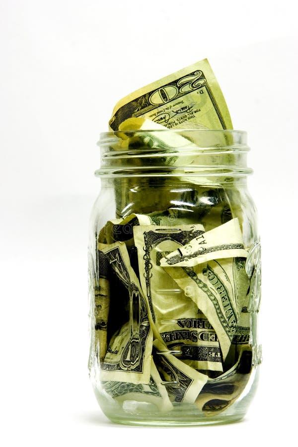 De Kruik Van Het Geld Royalty-vrije Stock Fotografie