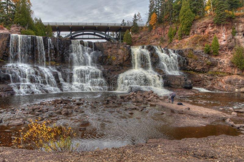 De kruisbes valt het Park van de Staat in Minnesota tijdens de herfst op de het Noordenkust van Meermeerdere royalty-vrije stock foto's