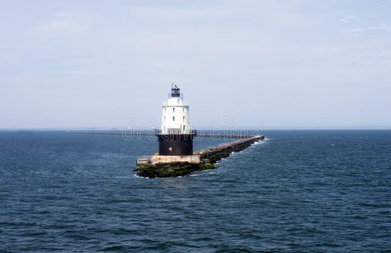 De kruising van de Baai van Delaware door Veerboot -04 stock afbeelding