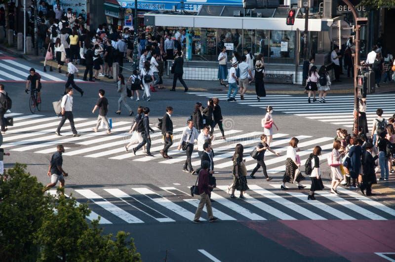 De Kruising van Shibuya stock foto