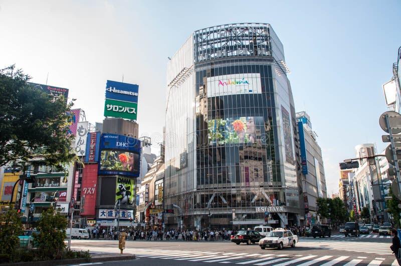 De Kruising van Shibuya royalty-vrije stock foto