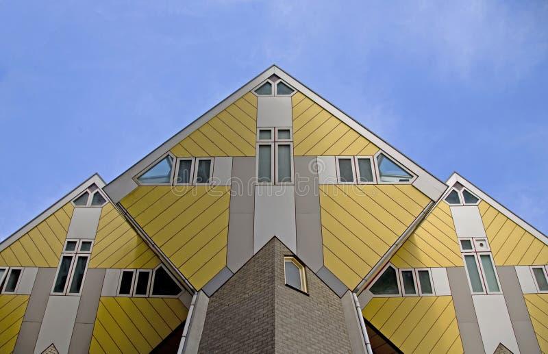De kubus huisvest 5 stock afbeelding