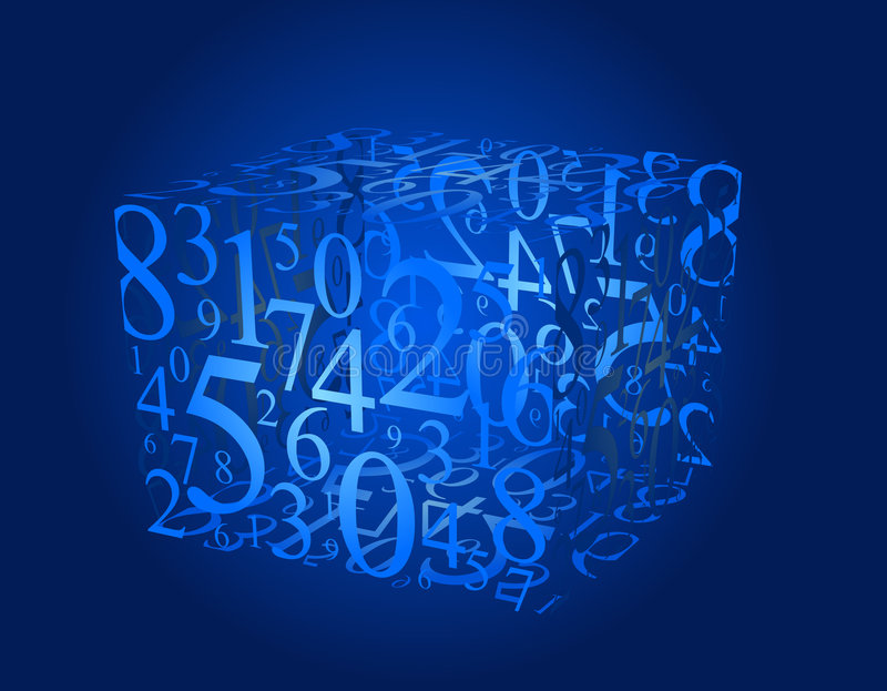 De kubus van aantallen