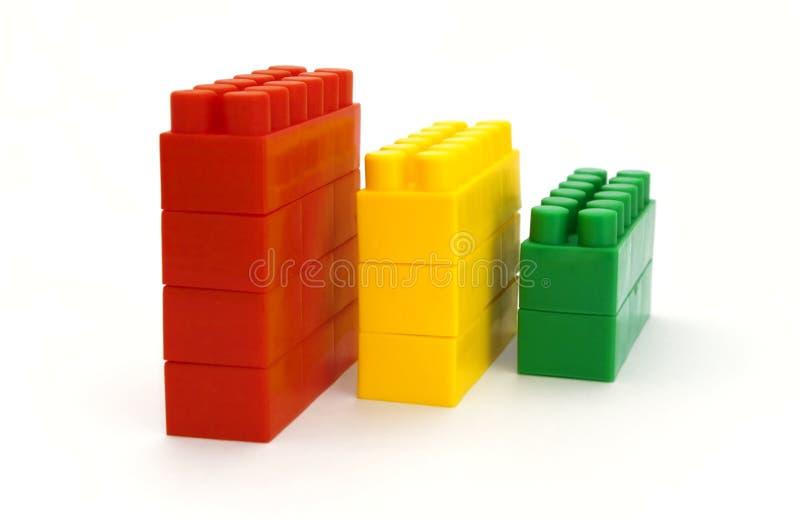 De kubussen van kinderen stock fotografie