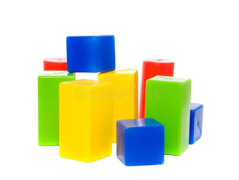 De kubussen van kinderen. royalty-vrije stock afbeelding