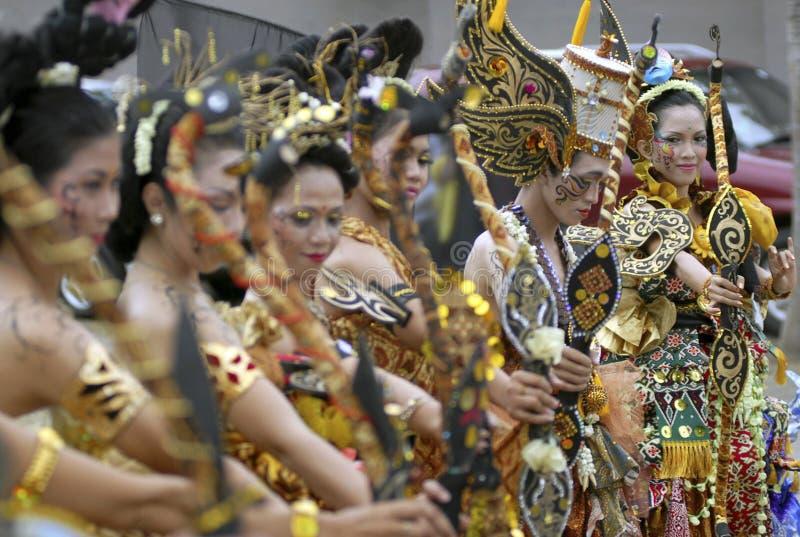 DE KUNST EN DE CULTUUR VAN INDONESIË royalty-vrije stock afbeelding