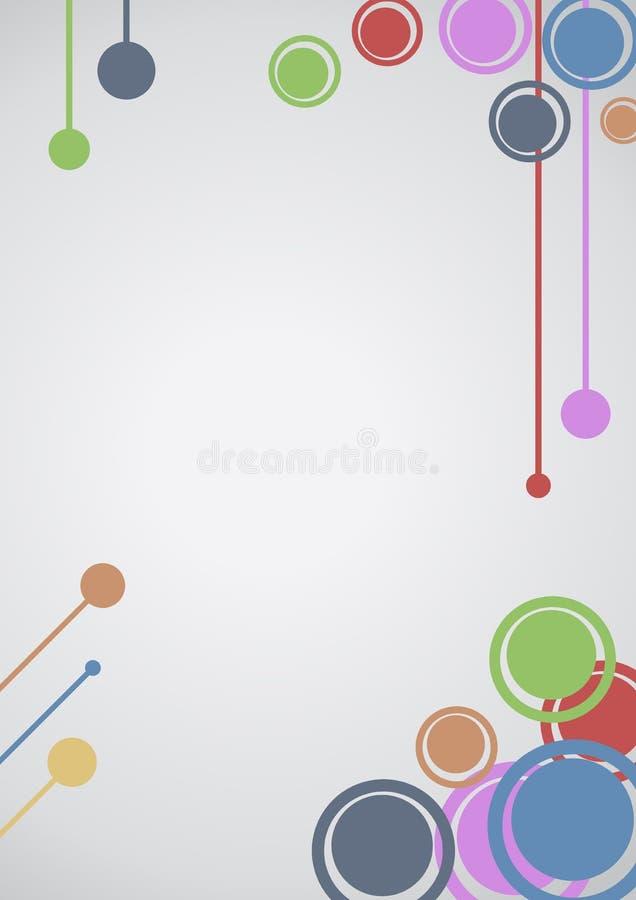 De kunstbehang van de kleur royalty-vrije illustratie