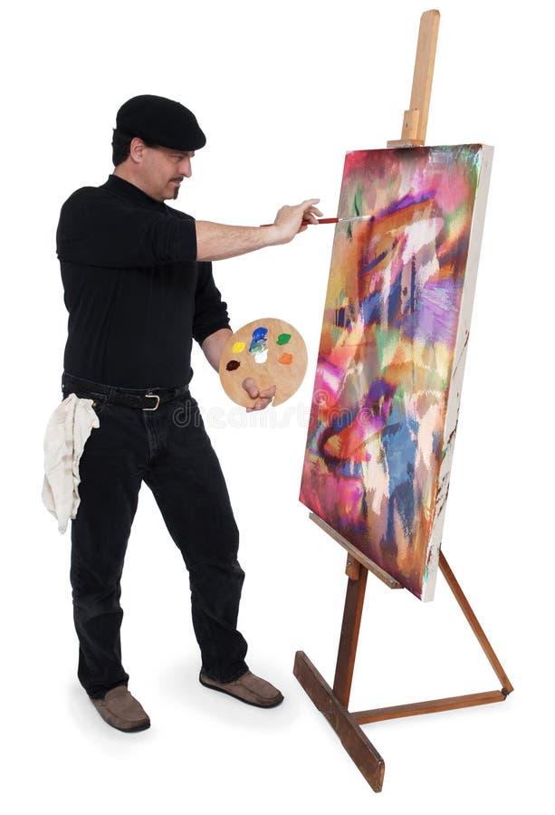 Download De kunstenaar stock foto. Afbeelding bestaande uit olie - 2000600