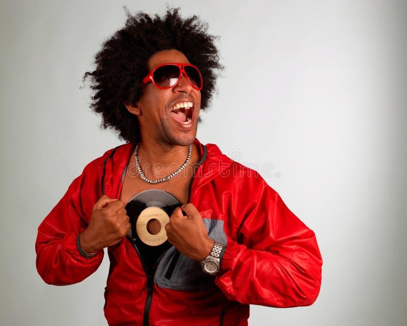 De kunstenaar van Hiphop royalty-vrije stock fotografie