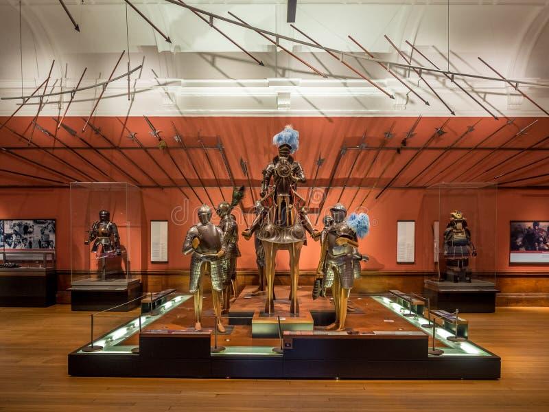 De Kunstgalerie en het Museum van Kelvingrove royalty-vrije stock foto