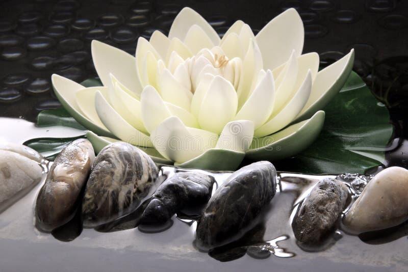De kunstmatige lotusbloem   royalty-vrije stock afbeelding