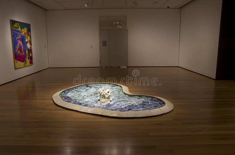 De kunstmuseum van Seattle royalty-vrije stock foto's