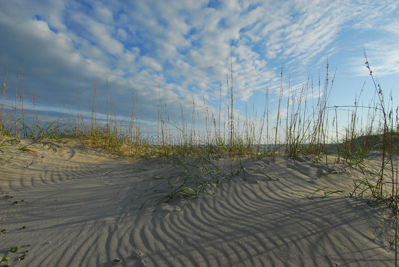 De kust Nationale Kust van Hatteras van de Kaap van Duinen royalty-vrije stock foto