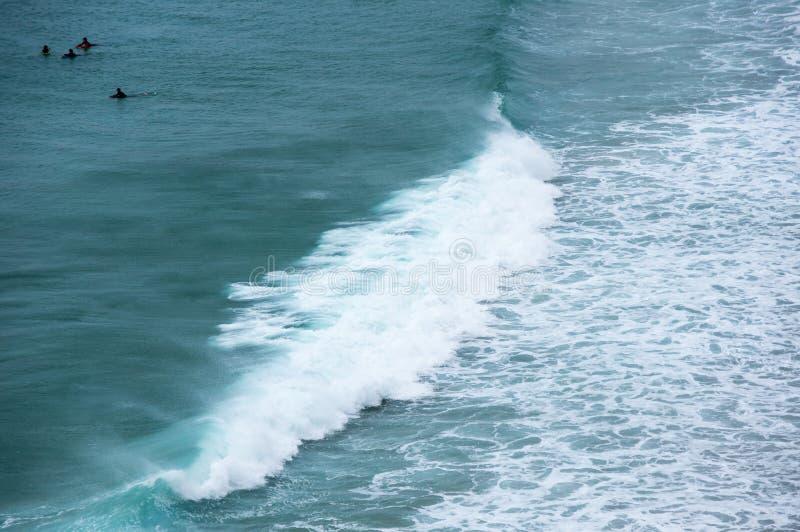 De kust van Atlantische oceant royalty-vrije stock afbeeldingen