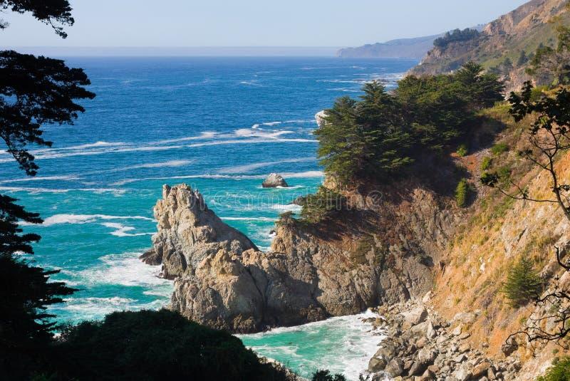 De Kust van Californië royalty-vrije stock afbeeldingen