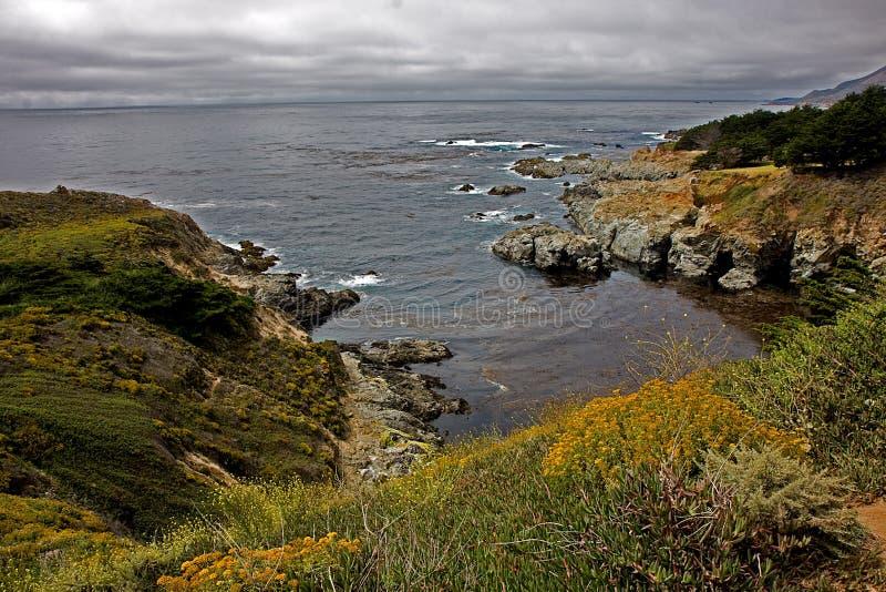 De Kust van Californië stock fotografie