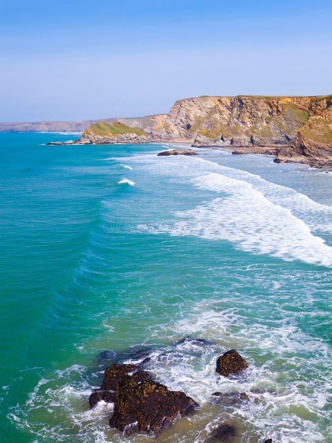 De Kust van Cornwall stock afbeeldingen