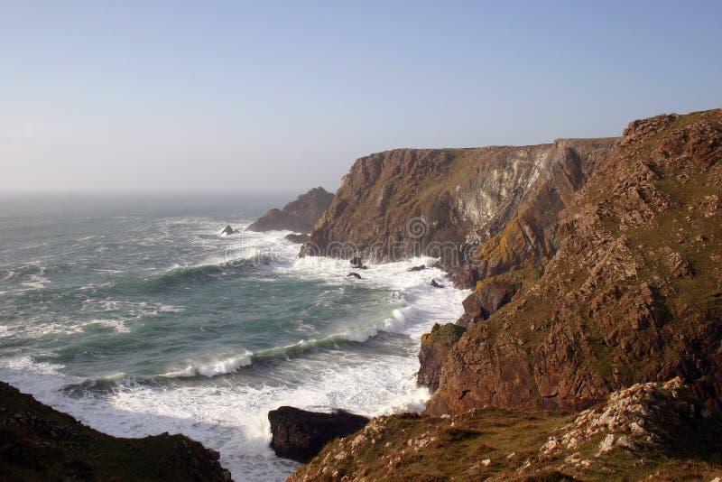 De kust van Cornwall stock fotografie