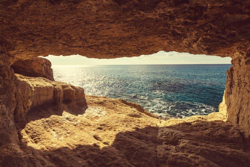 De kust van Cyprus royalty-vrije stock afbeeldingen